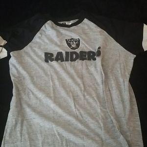 Long sleeve xl raiders shirt